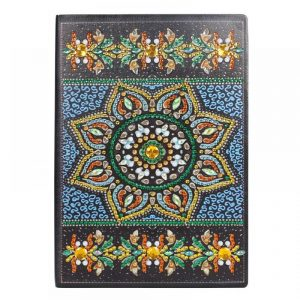 Topaz Sun Cover Diamond Painting Journal Kit