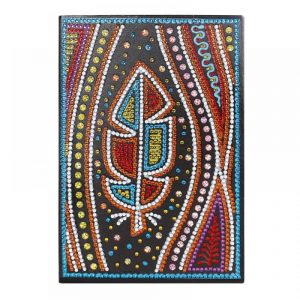 Feather Cover Diamond Painting Journal Kit