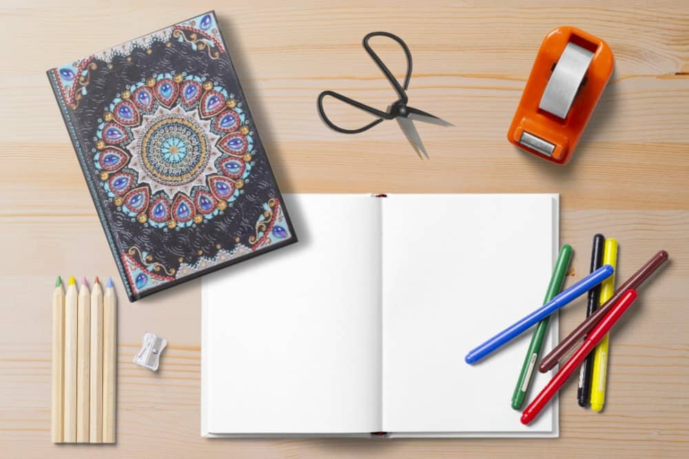 Shipping to your home! Diamond Painting Journal Kits